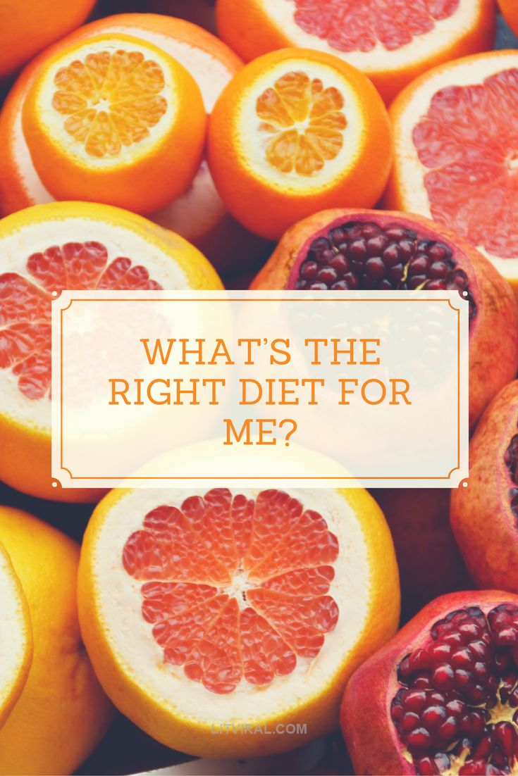 What's The Right Diet For Me? | LitViral.com
