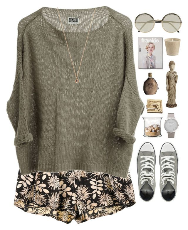 Untitled #363 by amy-lopezx on Polyvore featuring moda, STELLA McCARTNEY, Converse, Eva Fehren, Cutler and Gross, Diesel, Pier 1 Imports and Crate and Barrel