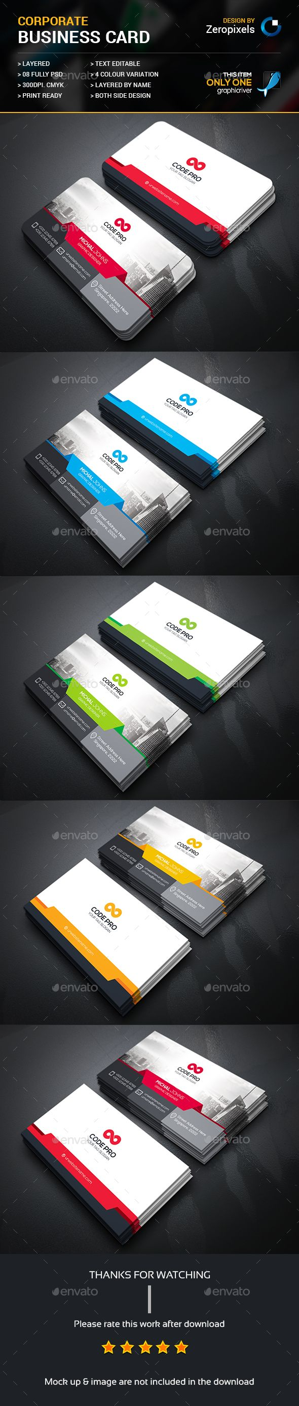 Best Kartvizitler Images On   Business Card Design