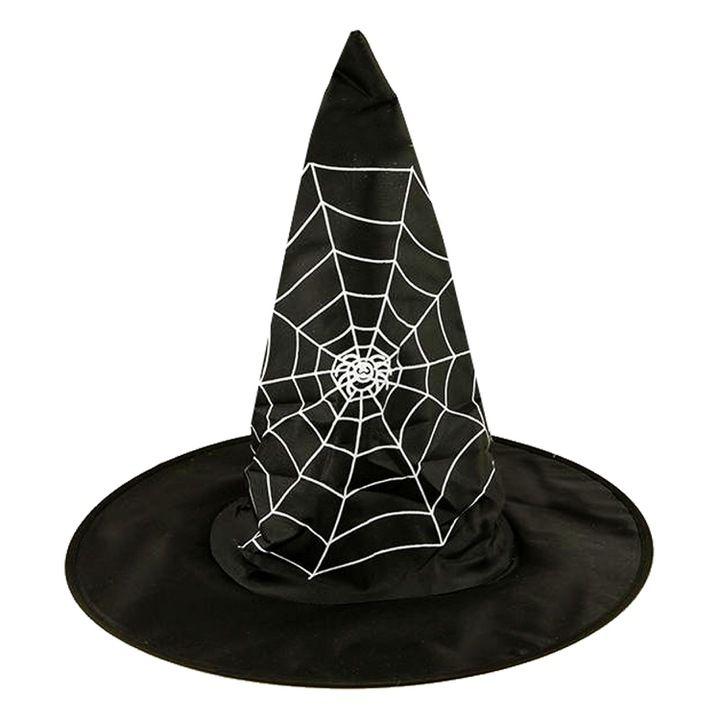 Halloween Kapelusz Czarownicy Przebran Mag Wiedzma Decor