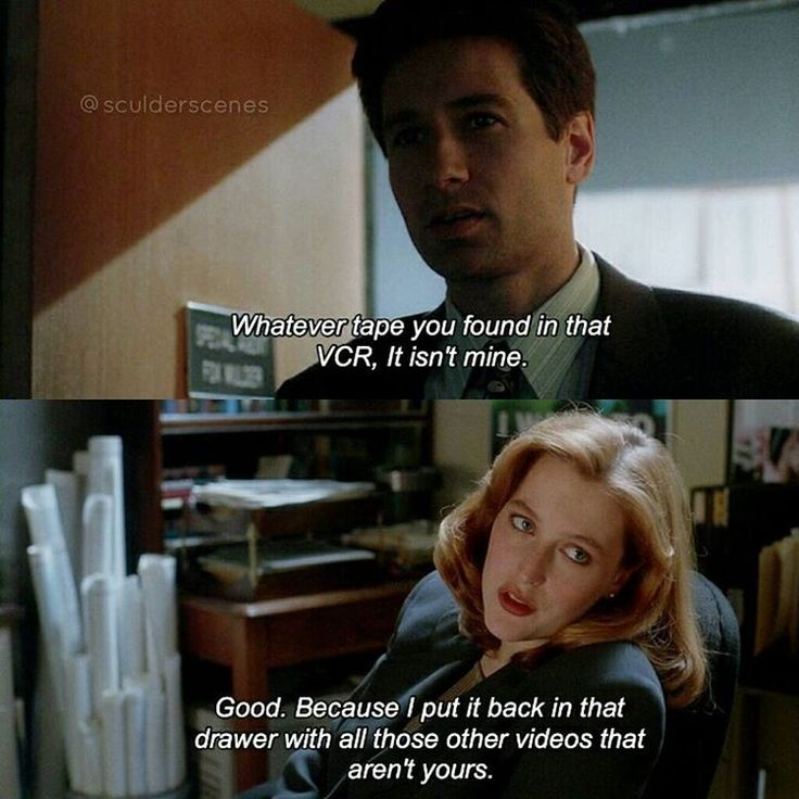 "258 Likes, 5 Comments - The X-Files - Austrian Fan (@sculderscenes) on Instagram: ""'s edit Mulder's porn.  Ahaha I love that line in the first  seasons of the X-Files.  It's…"""