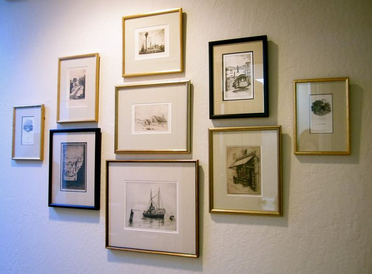 Project Design: Gallery Wall Inspiration: Galleries, Gift, Blank Wall ...