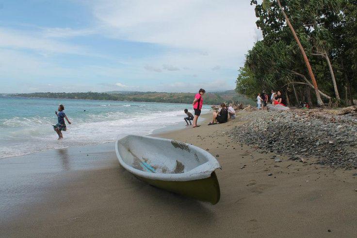 Beach time! Swimming in the Solomon's