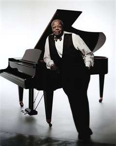 Oscar Peterson..I think he had magic in his fingers. I've never seen anyone play the piano with such passion.