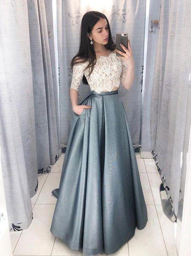 Vestidos De Dos Piezas Rosario Contreras En 2019