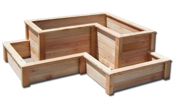 Cottage Range - Tiered Corner Raised Planter Box - ListSellTrade