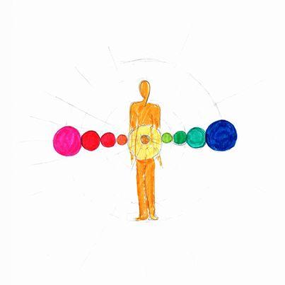 Se me aparecen los chakras. El plexo solar presenta su rol fundamental para armonizar, para poder ponernos de pie y caminar. Es el lugar donde se produce gran parte de la asimilación y transformación energética con el medio. #mandala #meditacion #busqueda