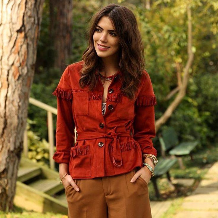 #BoynerFresh koleksiyonunun en sevilen parçalarından püsküllü bohem ceketi ile @maritsanbul 'un tarzına bayıldık, siz ne dersiniz? #boyner #moda #fashion #ootd #maritsanbul#blogger