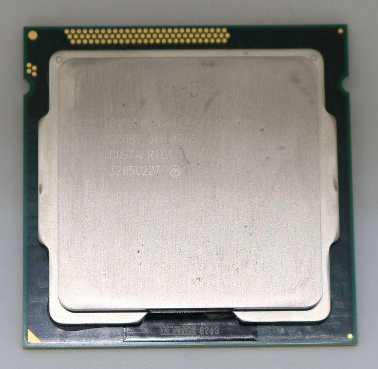 Intel Core i7-2600  Processor 3.4 GHz  CPU Socket LGA 1155 SR00B #Intel