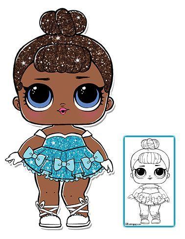 Color Your Favorite Lol Surprise Doll Craft Ideas Lol Surpresa