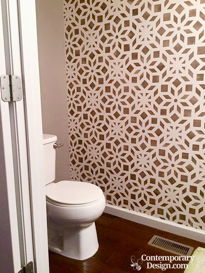 Best 10 small half bathrooms ideas on pinterest half - Half bathroom decorating pictures ...