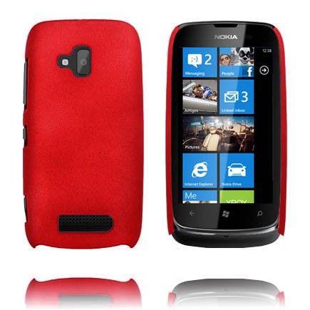 Hard Shell (Rød) Nokia Lumia 610 Deksel