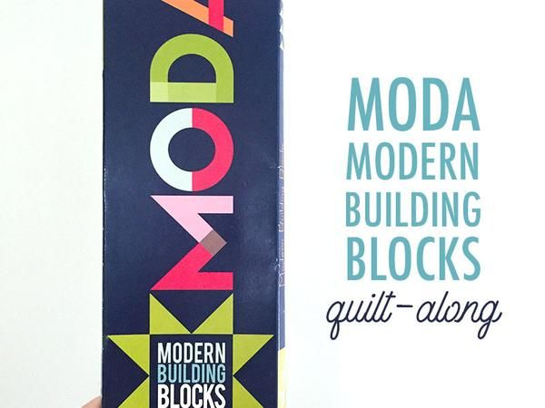 Back in 2014, Moda released their Modern Building Blocks kits and patterns. It makes this fabulous modern sampler quilt:Did you get your kit or pattern back then? Have you pieced it together? Or is still sitting in its original packagi...
