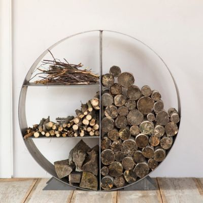 Overkill? - Steel Circle Log Holder