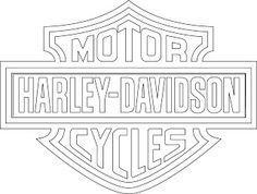 Harley-Davidson Logo Clip Art   logotipo de harley davidson vectorizado.