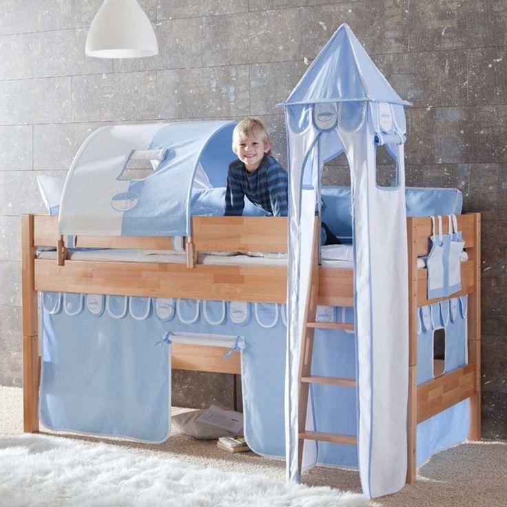 25+ best ideas about kinderbett weiß on pinterest | kinderbett ... - Kinderzimmer Blau Weis
