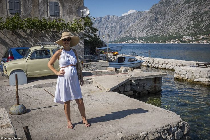 Channel 5 news presenter Emma on her Montenegro holiday where she dined on freshly caught fish with the twinkling lights of the coastline as a stunning backdrop
