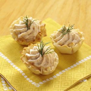 Salmon Mousse Tartlets
