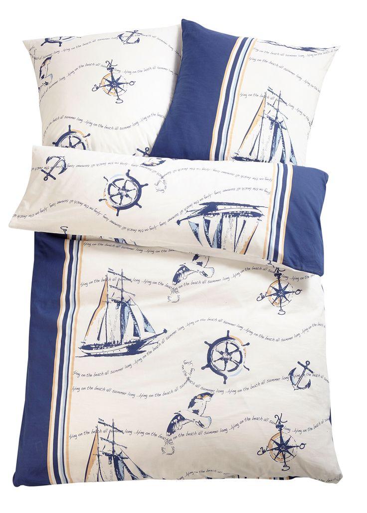 Biancheria da letto «Barca», Linone Blu - bpc living è ordinabile nello shop on-line di bonprix.it da ? 19,99. Biancheria stampata con motivi marinari che ...