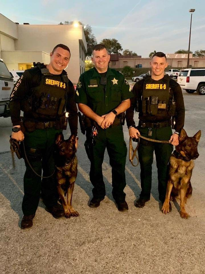 Pasco County Military Dogs Service Dogs Hot Cops