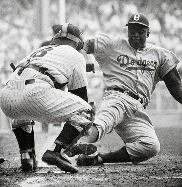 jackie robinson and the color barrier Branch rickey put his stamp on history in 1945, when he broke the major league baseball color barrier by signing jackie robinson to the brooklyn dodgers learn more.
