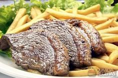 Receita de Picanha frita