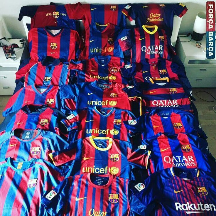 All Shirts of Barça
