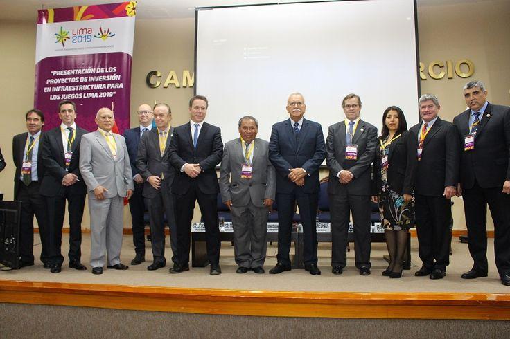 RECORD DE PRESENCIA DE EMPRESAS NACIONALES Y EXTRANJERAS QUE POSTULAN PARA LA CONSTRUCCIÓN DE LA VILLA PANAMERICANA LIMA 2019