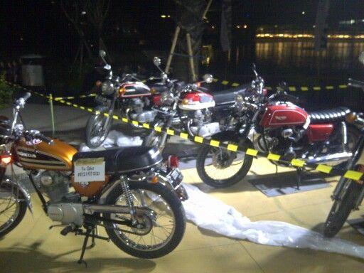 Honda twin club 7