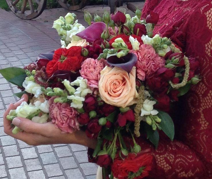 Свадьба бордовая осень wedding wife bordo невеста autumn