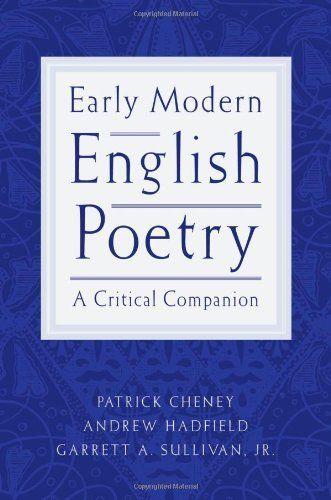 english poetry analysis essay