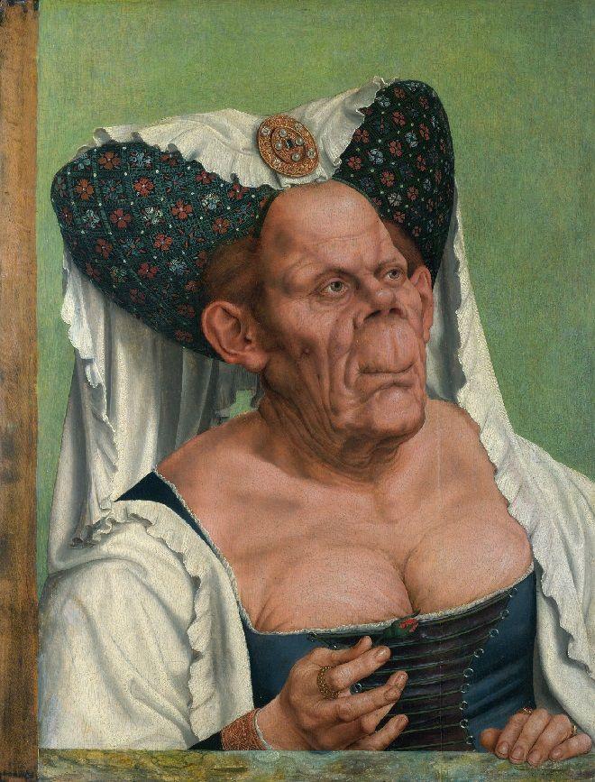 """Zagadka """"Starej kobiety"""" Quentina Massysa - W renesansowych portretach bardzo rzadko mamy do czynienia z przedstawieniami brzydoty, która była kojarzona ze starością i głupotą - mówiła w Dwójce Grażyna Bastek."""