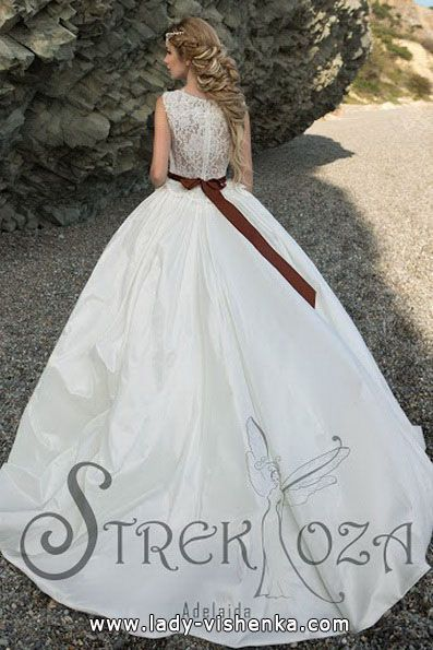 die Brautkleid duchesse 2016 — Strekoza Alle Br…