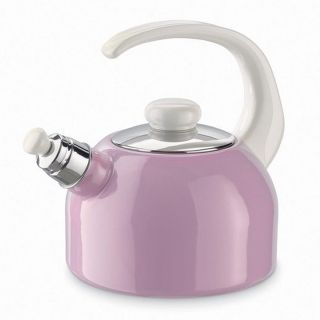 RIESS WHISTLING KETTLE PINK 2L