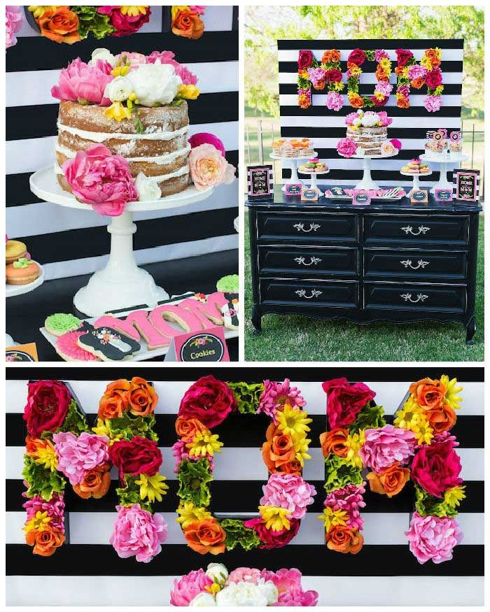 Colorful Mother's Day Party with FREE PRINTABLES via Kara's Party Ideas | KarasPartyIdeas.com #mothersdayparty #mothersdayprintables (1)