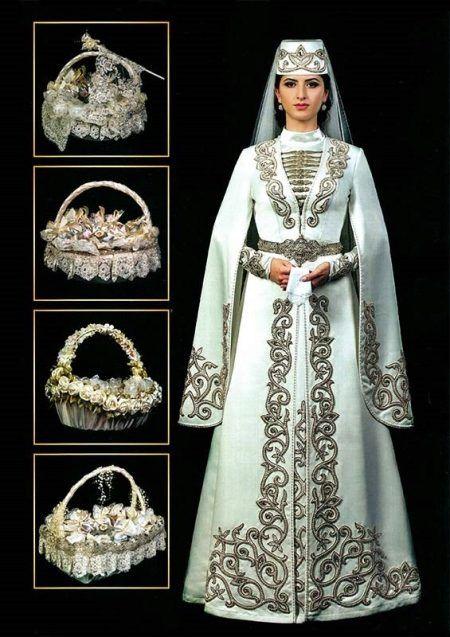 Армянский костюм национальный (66 фото)  женский, для танцев, свадебный, для 822aa519014