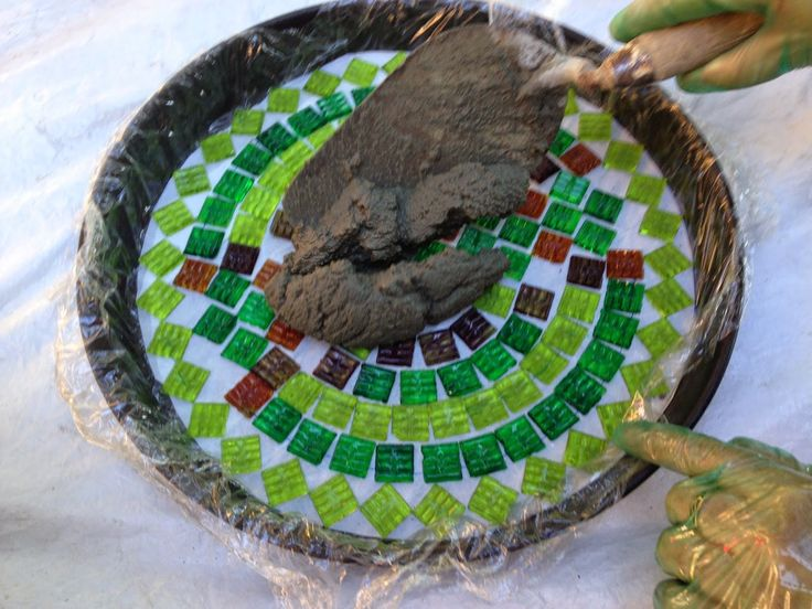 Mosaicos de venecitas