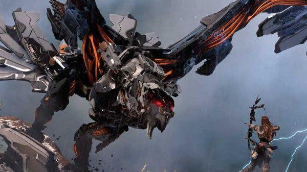 Latest Horizon: Zero Dawn videos introduce you to the Behemoth and Stormbird