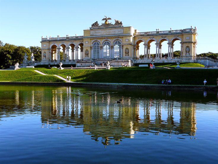 Beautiful Gloriette at Schoenbrunn Palace #feelaustria