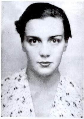 Vicky Obolensky (1911-1944)/ Russian Countess. She emigrated to France after the revolution. Became and active member of the Resistance and was arrested in 1943 and later executed.
