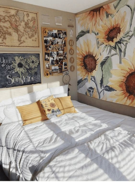 7 Beautiful Wall Gallery Concepts To Use In Your Dorm Room