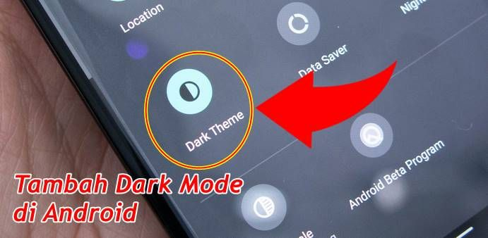Cara Membuat Hp Android Support Dark Mode Tanpa Root Android Smartphone Aplikasi