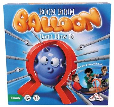 Test your nerve with Boom Boom Balloon!