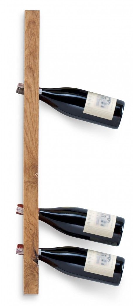 Wooden wine rack. Contains six bottles of wine. Made of one piece of oak wood.  for polish orders: www.tulas.pl  for international orders: https://www.etsy.com/listing/242995590/wooden-wine-rack-model-a-oak?ref=shop_home_active_5