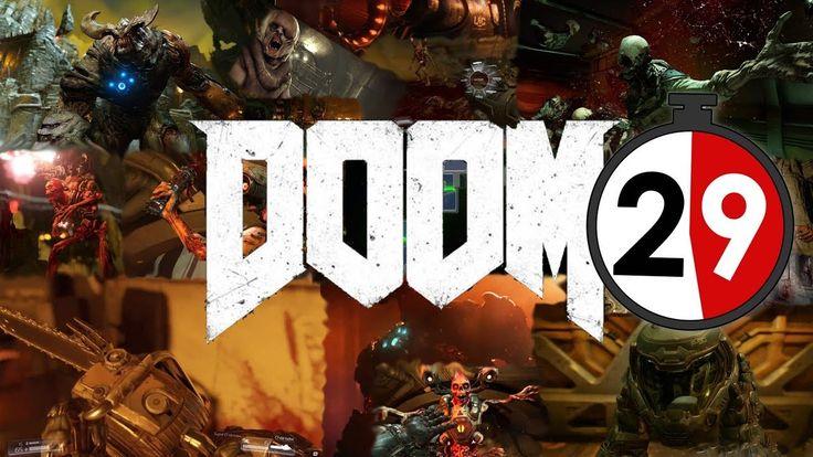 DOOM(2016) In 29 seconds Doom 2016, Doom game, Doom 4
