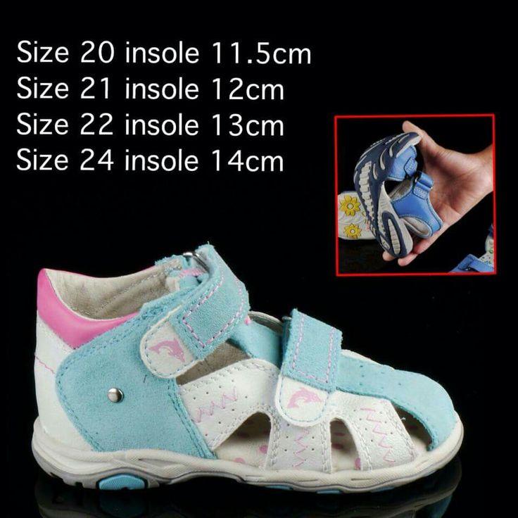 "READY STOCK KIDS LEATHER SANDAL KODE : BABY BLUE DOLPHIN Size 20,21,22,24 PRICE : Rp.205.000,- AVAILABLE SIZE (insole) : - Size 20 (11,5cm) - Size 21 (12cm) - Size 22 (13cm) - Size 24 (14cm)  NOTE : Sesuai utk panjang telapak kaki 10cm,10,5cm,11,5cm, dan 12,5cm.  MATERIAL : Genuine Leather (Kulit Asli), Sol Empuk, nyaman dipakai anak balita.  FOR ORDER : SMS/Whatsapp 087777111986 PIN BB 26e6d360 / 766a6420 LINE : mayorishop Facebook : Mayorishop  Testimoni cek Facebook ""Mayorishop"" ya…"