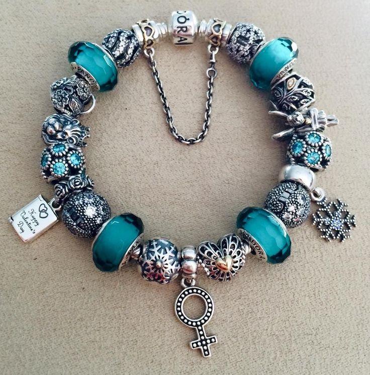 exemple bracelet pandora bleu