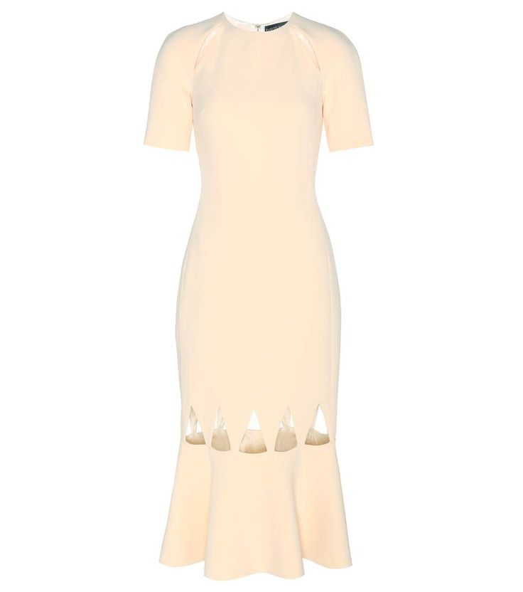 DAVID KOMA Cut-Out Crêpe Dress. #davidkoma #cloth #current week
