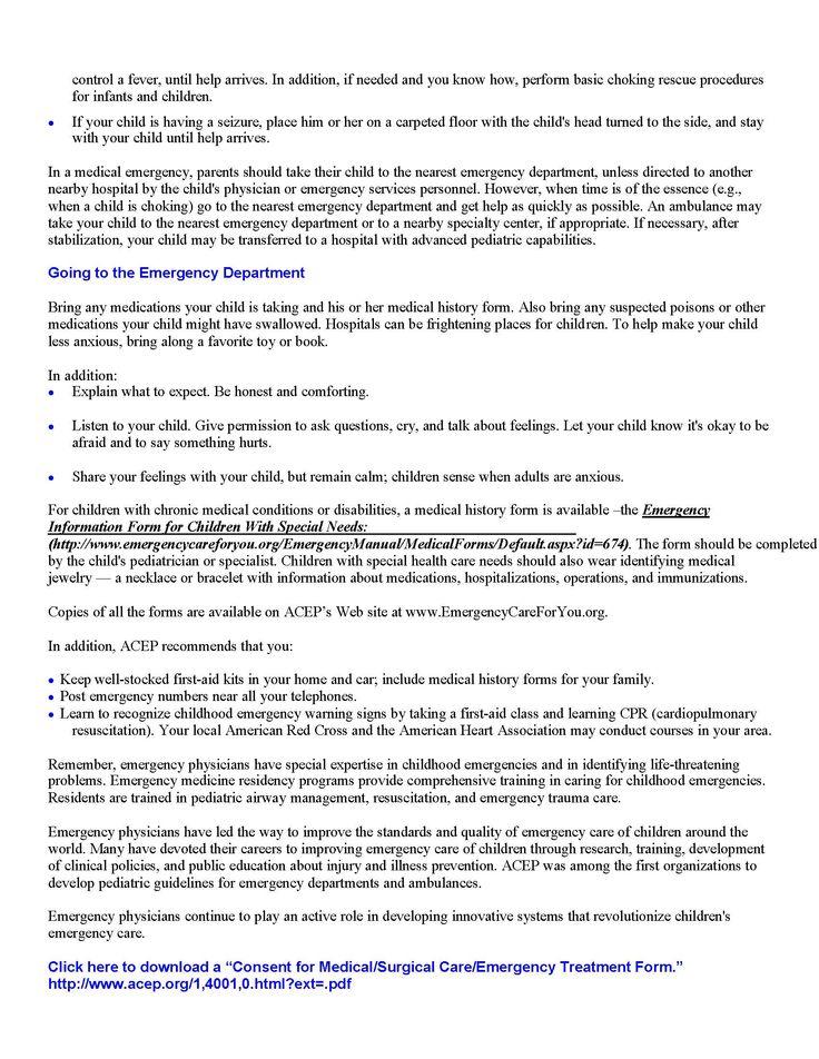 7 best Loree Lough\u0027s \ - medical release form sample