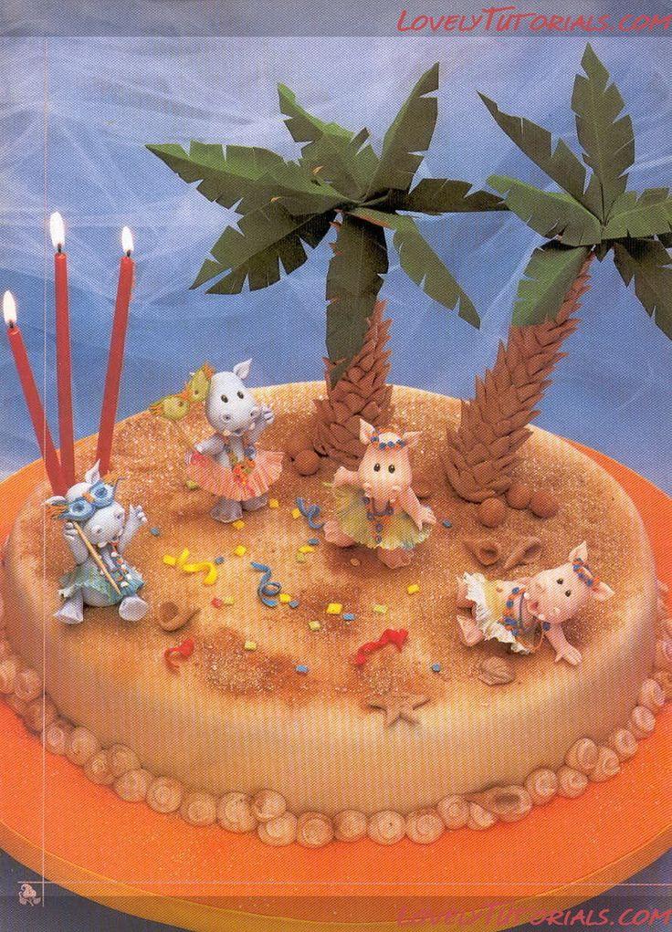 Бегемот, hroch, flodhest, хипопотам, hippopotame, Nilpferd, ippopotamo, flodhest, hipopótamo, нилски коњ, povodni konj, hipopótamo, suaygırı - Мастер-классы по украшению тортов Cake Decorating Tutorials (How To's) Tortas Paso a Paso